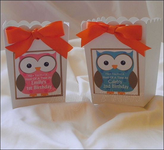 Personalized Baby Owls For Baby Showers Or Birthdays
