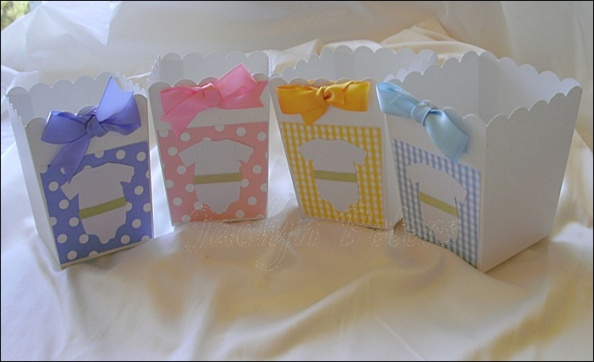 Hand Crafted For Baby Showers Mix And Match Your Colors